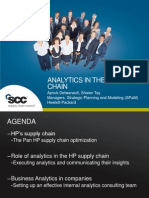 1-Analytics in the HP Supply Chain