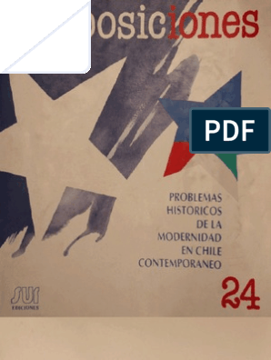 Problemas históricos de la modernidad en Chile contemporáneo