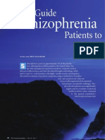 Guide Schizophrenia Patients to a Better Physical Health