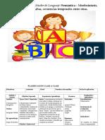 Planificación kinder lenguaje B.N
