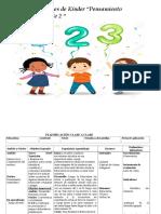 Planificaciones de  pensamiento matematico partes 2 de  kinder B.N (1)