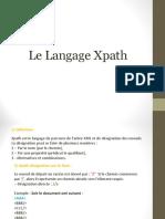 Cours Xpath