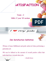 Ob Seminar Job Satisfaction