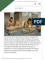 Actividad 9_ La evolución de la Escritura - Ciencias Sociales 1° BTO - Campus Virtual ORT
