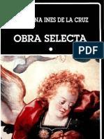 Sor Juana Inés de la Cruz. Obra selecta I
