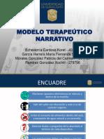 modelo terapeutico narrativo Universidad de Gto