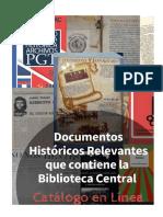 DOCUMENTOS HISTORICOS RELEVANTES - CATALOGO EN LINEA.docx