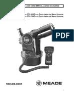 Manual Meade ETX 70AT