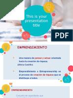 Conceptos generales sobre el emprendimiento