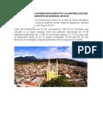 PROYECTO.Garagoa es la Capital de la Provincia de Neira