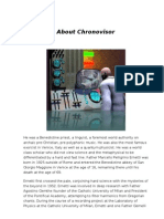 About Chronovisor
