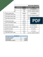 Licencias y Auxilios Sindicato Ese Desde El 2012 Al 2019