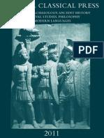 Bristol Classical Press Catalogue 2011