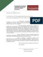 Ofício Aojustra - Proposta de curso para Oficiais de Justiça do TRT/2