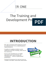 Chapter 1 - Training and Development