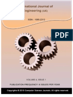 International Journal of Engineering (IJE), Volume (4)