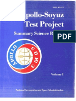 Apollo-Soyuz Test Project. Volume 1 Astronomy, Earth Atmosphere and Gravity Field, Life Sciences, And Materials Processing