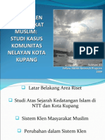 Sistem Klen Masyarakat Muslim
