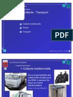 Menu - Collecte - Transport