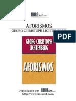 Lichtenberg - Aforismos