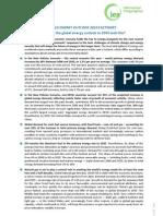 World Energy Outlook 2010 Factsheet