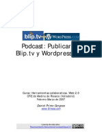 Curso Web20 Manual Blip Wordpress