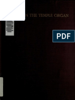 Notes on Temple Organ