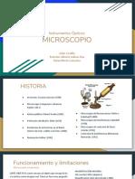 Instrumentos Ópticos- Microscopio