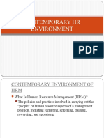 2 - Contemporary HR Env.