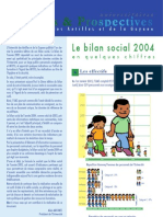 Bilan Social 2004