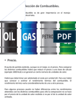 3.- Selección de Combustibles.
