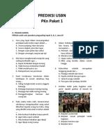 tryout USBN PKn Paket 1