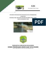 KAK Rehabilitasi Jaringan Irigasi D.I Curug Desa Sumberjaya Kec. Sumberjaya