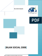 Bilan Social 2008