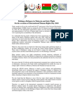 Press Release on International Human Rights Day 2010