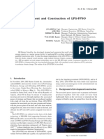 Development and Construction of LPG-FPSO