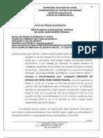 PREGÃO 115 AQUISIÇÃO DE PAPEL HIGIENICO  1984