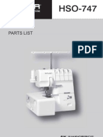 HSO-747 Parts List