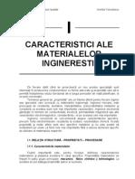 Caracteristici Ale Materialelor Ingineresti