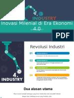 inovasi industry 4.0-Revolution