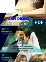San Diego Charter Bus Rentals Are a Wonderful Way to Say Thank You
