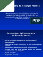 Aula de Espectroscopia de Absorção Atômica-2012_1.ppt