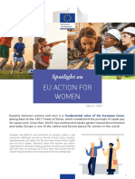 Spotlight on EU Action for Women