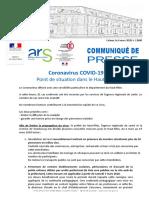 Préfecture du Haut-Rhin, Mesures Coronavirus, 6 mars 2020