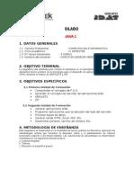 Silabus Java 2