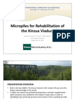 Kinzua Bridge Micropiles Case History