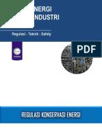 (1) Audit energi (Regulasi - Teknik - Safety)