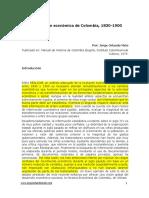 Economia1830-1900.  comercio exterior laura marin