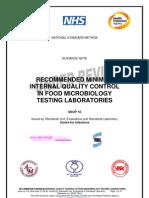 Standard Methods for Acrediatation