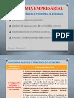 EE RA1 - CONCEITOS BÁSICOS e PRINCÍPIOS de ECONOMIA